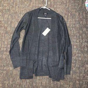 Sweaters - Dark Gray Cardigan